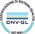 Certificazione di sistema qualità - DNV - GL - ISO 9001