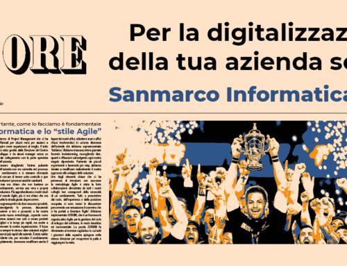 Per la digitalizzazione della tua azienda scegli Sanmarco Informatica Spa