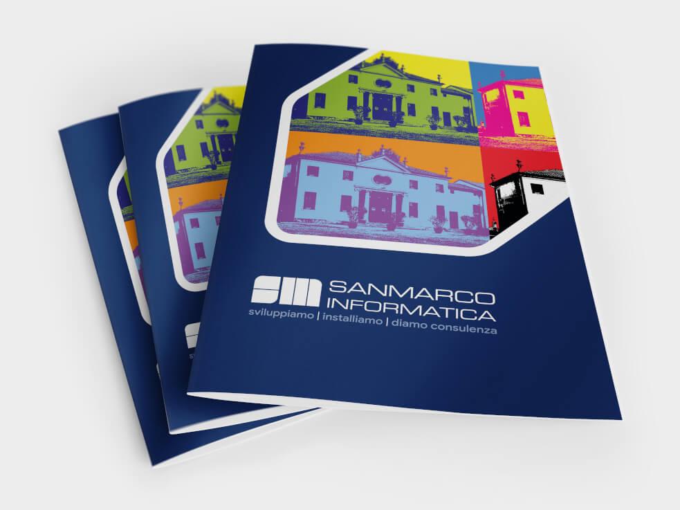 Richiedi il Flyer - Profilo Aziendale Sanmarco Informatica