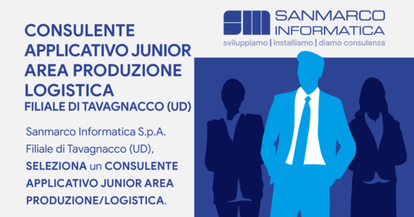 Consulente applicativo junior area produzione / logistica