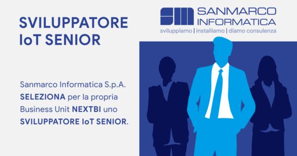 Sviluppatore IoT Senior