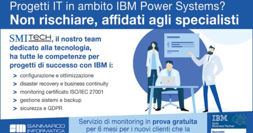 Affidati agli specialisti IBM POWER SYSTEMS