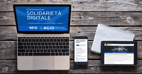 Solidarietà Digitale NSO e E-learning
