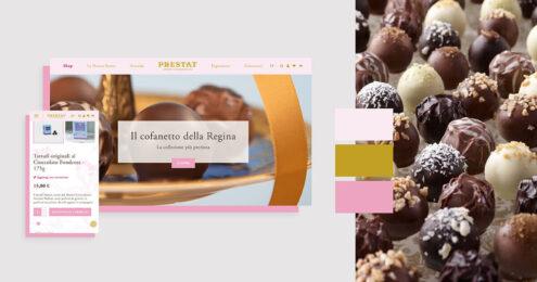 PRESTAT, il cioccolato più nobile, anche online.